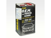 7709 O.E.M. for Toyota Lexus 5W-30 (4л.) металл
